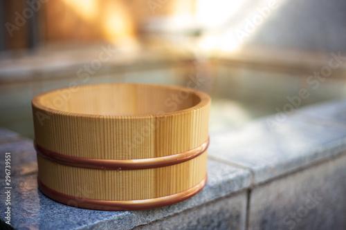Obraz na plátně 日本の温泉 和風イメージ