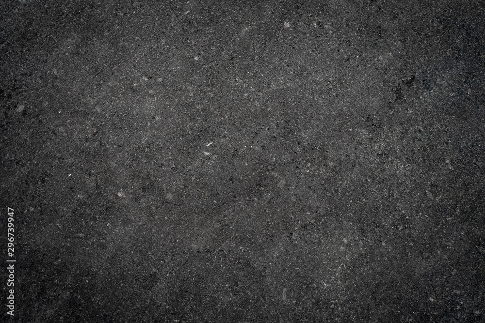 Fototapety, obrazy: Dark grey stone texture. Background with rough surface