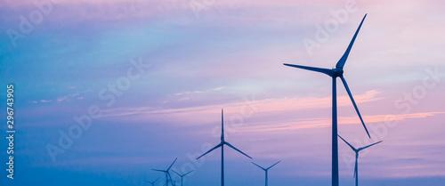 Vászonkép 風力発電