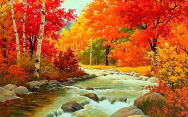 Fototapeta Jesień Осень кружка уют
