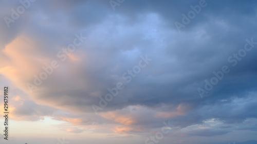 Fototapeta sky with clouds obraz na płótnie