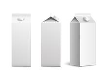 Juice Or Milk Blank Packaging ...
