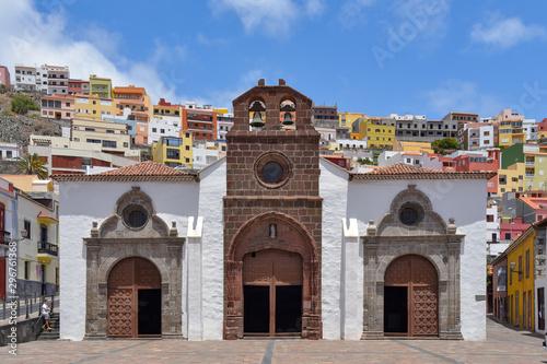 Fototapeta premium Kościół Wniebowzięcia NMP w San Sebastian / La Gomera