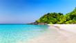 Beautiful beach and blue sky in Similan islands.