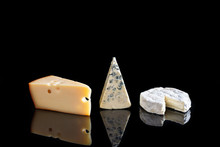 Various Types Of Cheeses: Came...