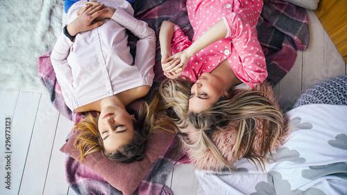 Fotografía  Girls sleepover