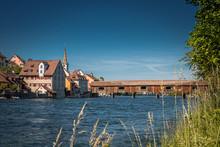 View Of Diessenhofen Town In S...