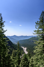 Scenic View Of The Nisqually R...