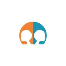Kids Logo Template Vector Icon Dersign