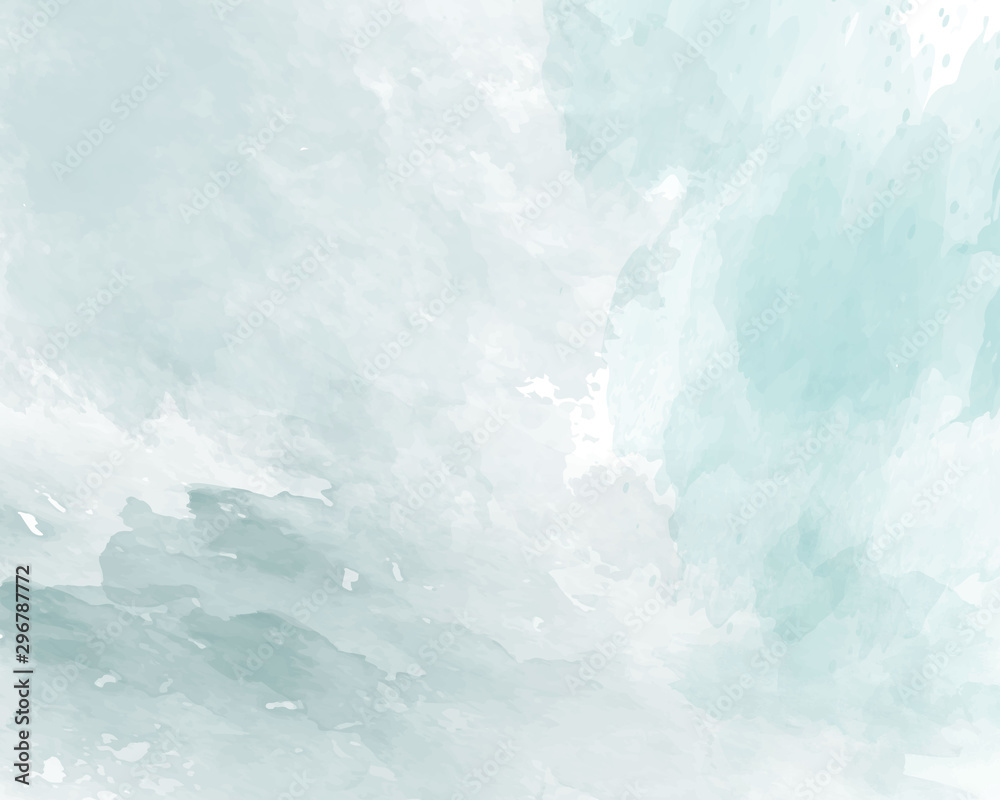 Niebieska miękka akwarela streszczenie tekstura. Ilustracji wektorowych.