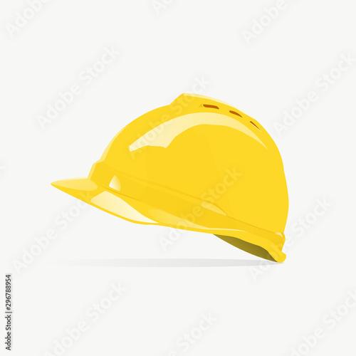 Stampa su Tela  Safety Helmet Construction Logo