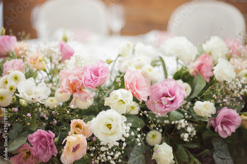 Tela beautiful weddind floral decor