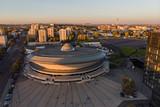 Fototapeta Miasto - Spodek Sports and Entertainment Hall. Katowice, Poland.