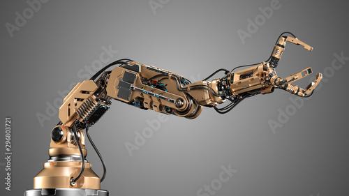 Canvastavla  Robotic arm