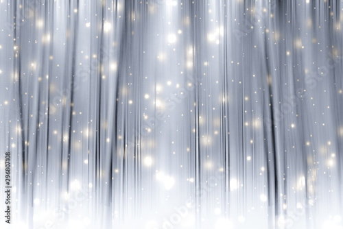 Poster Taupe Winter season abstract nature art print and Christmas landscape holiday background, snowy magical forest as luxury brand postcard design backdrop
