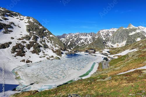 Photo Grand Saint Bernard pass (2469m), Switzerland/Italy