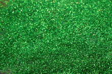 This Is A Green Glitter Backgr...