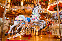 Merry-go-round Ride In Amuseme...