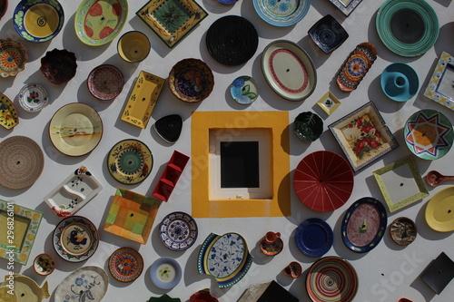 Tienda de cerámica Canvas Print
