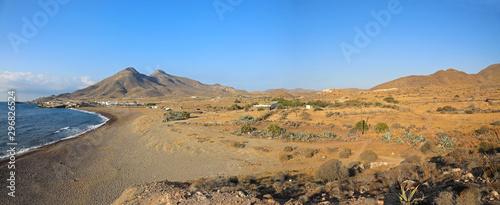 Obraz na plátně playa almería escullos mediterraneo 1 -as19