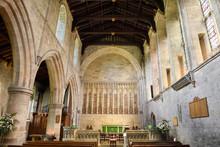 Interior Altar Of The Priory C...