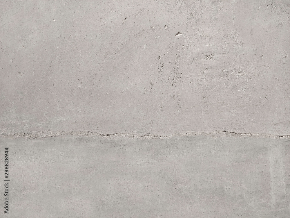 Fototapety, obrazy: Texture of old gray concrete wall for background with dirty details.
