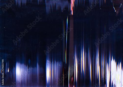 Fotografie, Obraz Video damage
