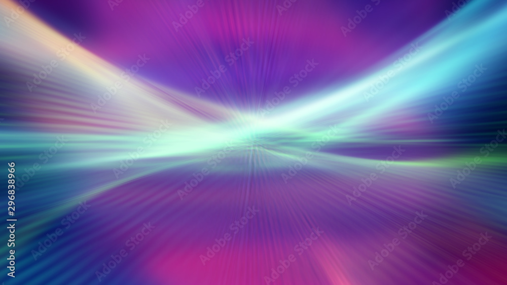 Fototapety, obrazy: background color abstract wave line