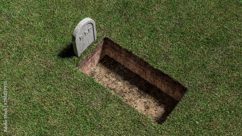 Photo RIP Stone Grave Tomb