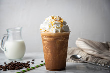 Caramel Frappuccino With Wippe...