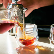 Close Up View Of Tea Pouring I...