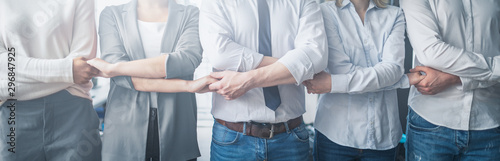 Unity and teamwork concept. Fototapet