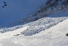 Small Wet Snow Avalanche Debri...
