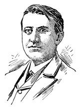 Thomas Alva Edison Vintage Ill...