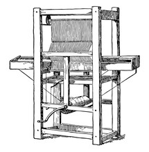 Cartwright First Power Loom Vi...