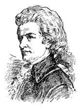 Wolfgang Amadeus Mozart Vintag...