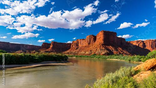 Green River, Canyonlands National Park, Moab, Utah Canvas Print