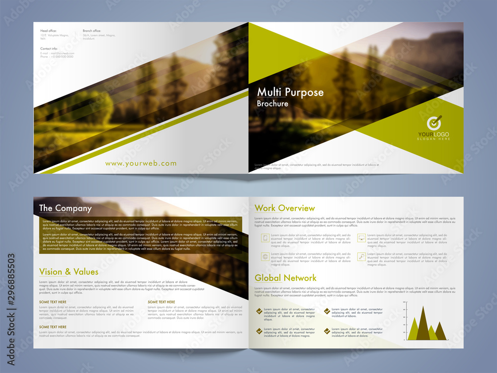 Fototapety, obrazy: Business Flyer, Banner or Template.