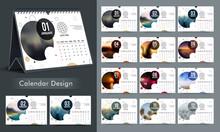 Creative Annual Calendar Design.