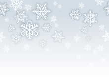 雪の結晶のシームレス...