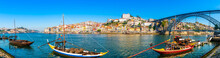 Panorama Of The City Of Porto ...