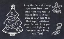Drawing Of Christmas Tree And ...