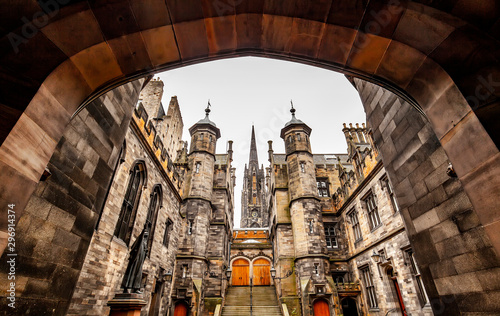 Edinburgh old town view, Scotland