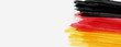 Banner with abstract flag of Germany