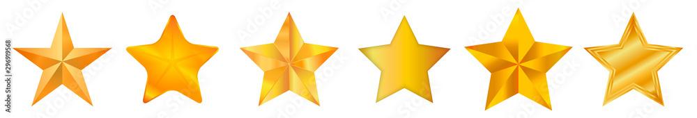 Fotografía Star / Star-icon / Star-vector / Star set Vector illustration.