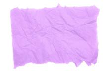 Purple Textured Wrinkled Torn ...
