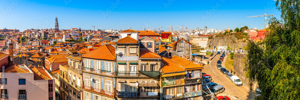 Fototapety, obrazy: Panorama of the city of Porto in Portugal