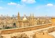Leinwanddruck Bild Mosque Sultan Hassan in Cairo