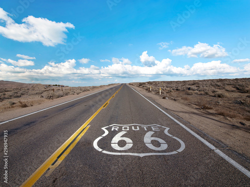 Cadres-photo bureau Route 66 Route 66