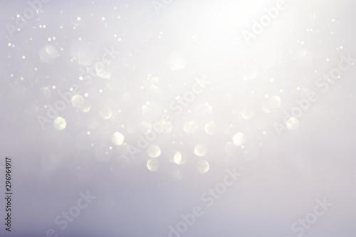Carta da parati  abstract backgrounf of glitter vintage lights